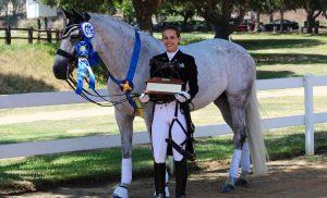 Sarah & Calanda – FEI Champions
